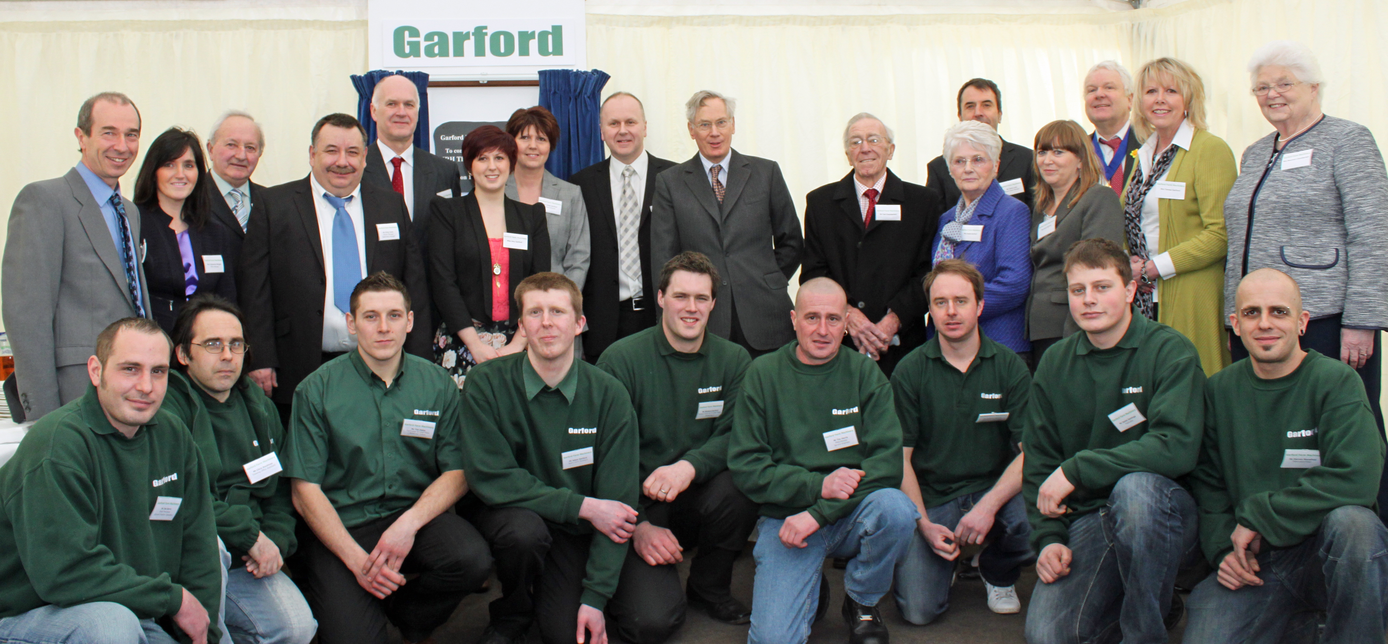 Duke of Gloucester visits Garford Machinery