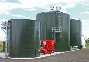 Reporting on the opening of the Cockle Park biogas plant for Farmers Weekly